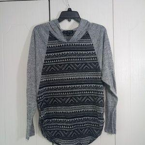 Mason Mackenzie Gray hoody Aztecs Shirt Size S